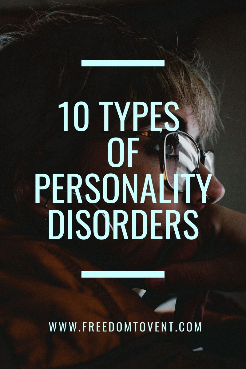 10 Types of Personality Disorders